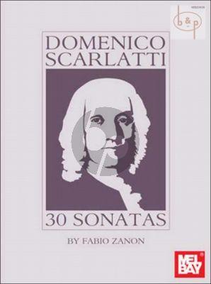 Scarlatti 30 Sonatas for Guitar (arr. Fabio Zanon)