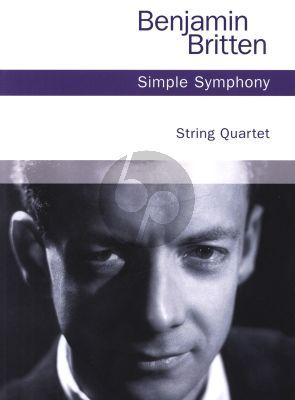 Britten Simple Symphony version for String Quartet Parts