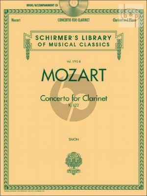 Concerto KV 622 Clarinet-Orchestra (piano red.)