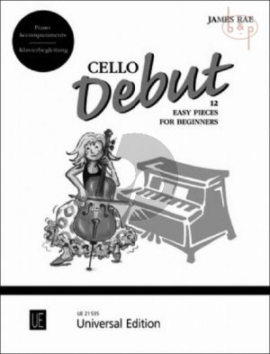 Cello Debut (12 Easy Pieces for Beginnners)