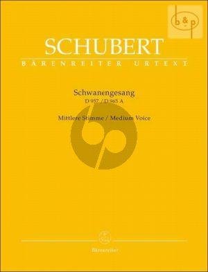 Schwanengesang D.957 - Die Taubenpost D.965A Medium