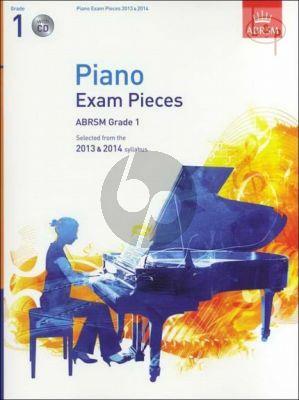 Piano Exam Pieces 2013 - 2014 Grade 1