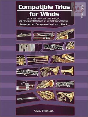 Compatible Trios for Winds (32 Trios for any combination of Wind Instr.) (Flute/Oboe)