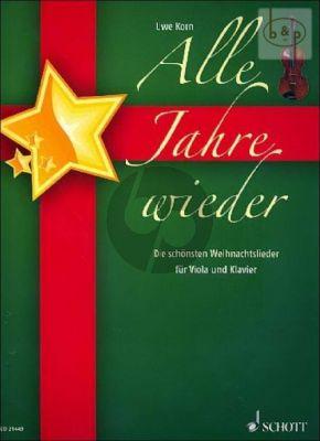 Alle Jahre Wieder (Die Schonsten Weihnachtsl.) (Viola-Piano)