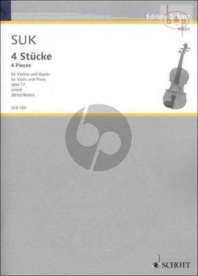 4 Stucke Op.17 (edited by Wolfgang Birtel)
