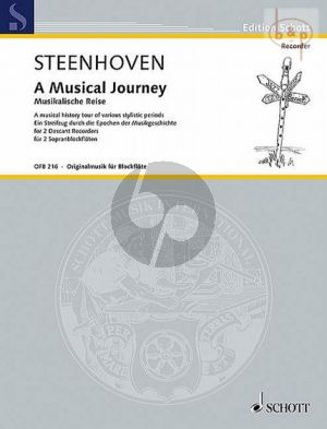 Steenhoven A Musical Journey 2 Descant Recorders