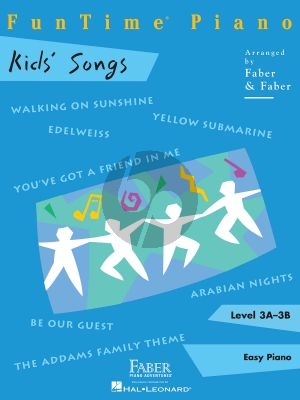 FunTime® piano Kid's Songs Level 3A - 3B