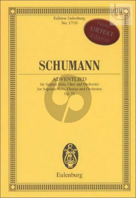 Adventlied Op.71 (Sopr.-Choir-Orch.)