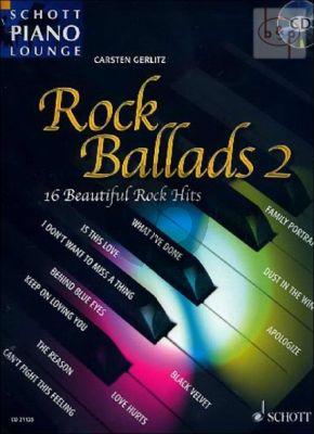 Rock Ballads Vol.2 (16 Beautiful Rock Hits) (Bk-Cd)