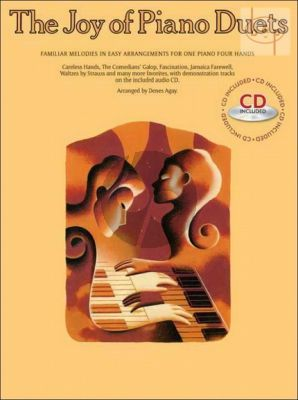 Joy of Piano Duets (Familiar Melodies in Easy Arrangements)