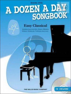 A Dozen a Day Songbook Easy Classical Vol.1