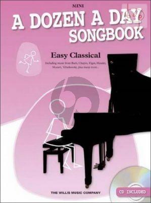 A Dozen a Day Songbook Easy Classical Mini