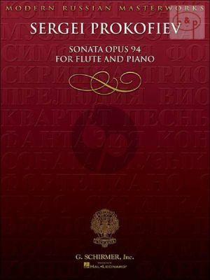 Sonata D-major Op.94 Flute and Piano