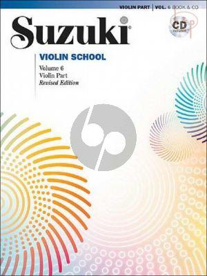 Violin School Vol.6 BK-CD