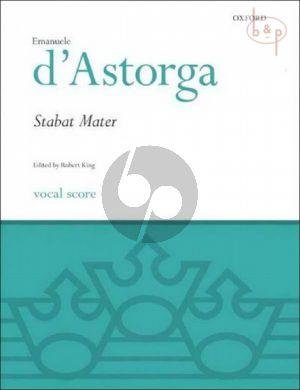 Stabat Mater (SATB soli-SATB-Strings-Organ)