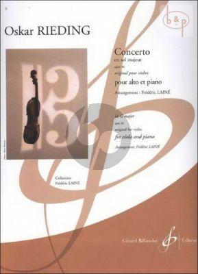 Concerto G-major Op.36 Viola and Piano