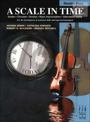 A Scale in Time for Double Bass