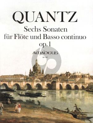 Quantz 6 Sonatas Op.1 for Flute and Basso Continuo (edited by Winfried Michel) (Edited from the First Edition)