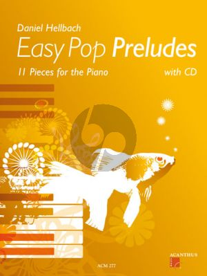 Easy Pop Preludes Piano