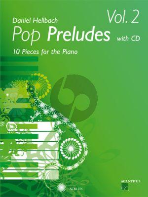Hellbach Pop Preludes Vol.2 (10 Pieces) (Bk-Cd)