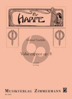 Verdalle Valse Caprice Op.8 Harp