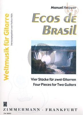 Ecos de Brazil (4 Pieces) (Bk-Cd)