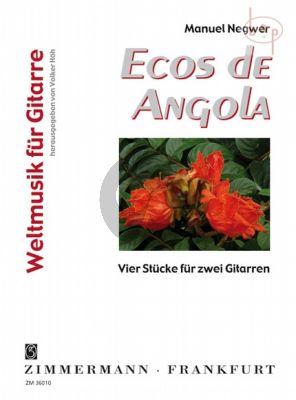 Ecos de Angola (4 Pieces) (Bk-Cd)