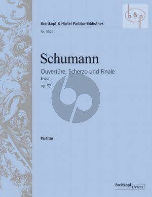 Ouverture-Scherzo & Finale E-major Op.52 (Orch.)