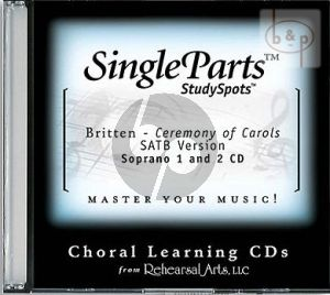 Ceremony of Carols (SATB version) (Soprano 1 - 2)