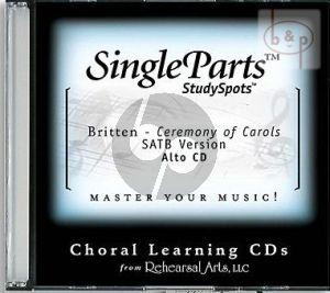 Ceremony of Carols (SATB version) (Alto)