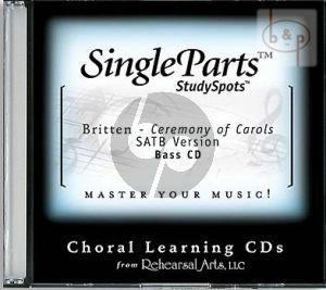 Ceremony of Carols (SATB version) (Bass)