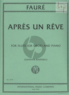 Apres un Reve Flute or Oboe and Piano