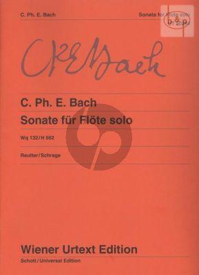 Sonate a-moll WQ.132 /H.562 Flute Solo