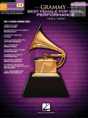 Grammy Award Best Female Pop Vocal Performance 1990 - 1999