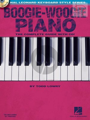 Lowry Boogie-Woogie Piano (The Complete Guide) (Bk-Cd)