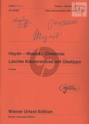 Leichte Klavierstucke Ubetipps von Haydn-Mozart und Cimarosa