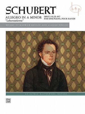 "Allegro a-minor Op.144 D.947 ""Lebenssturme"""