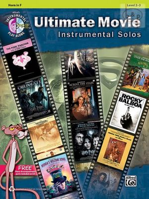 Ultimate Movie Instrumental Solos for Horn in F