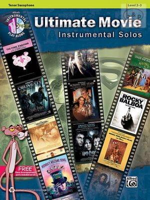 Ultimate Movie Instrumental Solos for Tenor Saxophone