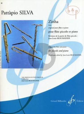 Zinha (Polka) (orig. Flute) (edited by Jean Louis Beaumadier) (interm.level)