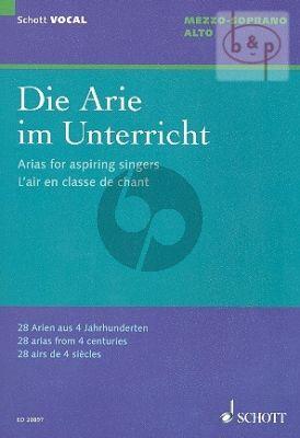 Die Arie im Unterricht (28 Arien aus 4 Jahrh.)