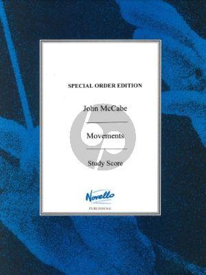 McCabe Movements (1964/Revised 1966) clar-violin-cello Studyscore