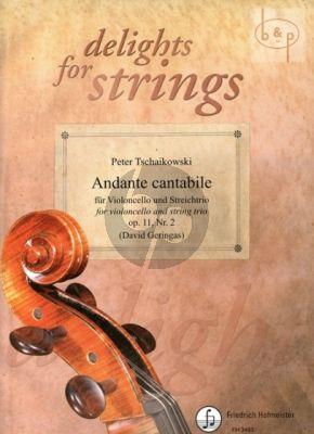 Andante Cantabile Op.11 No.2 (Violonc.solo- String Trio)