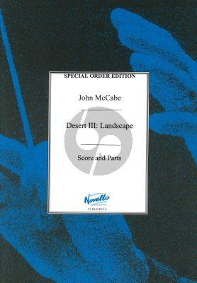 McCabe Desert III: Landscape Violin-Cello-Piano