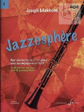 Jazzosphere Vol.3 (Clarinett[Bb]-Piano) (Bk-Cd)