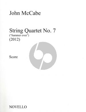 McCabe String Quartet no.7 Summer Eves Score