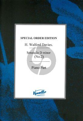 Walford Davies Violin Sonata no.2 D-minor Violin-Piano