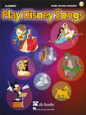 Album Play Disney Songs for Clarinet in Bb Book with Audio Online (arr. Jaap Kastelein)