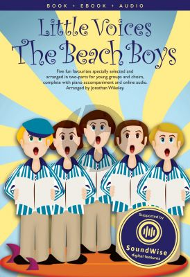 Little Voices Beach Boys 2 Part-Piano (Book with Audio) (arr. Barrie Carson Turner)