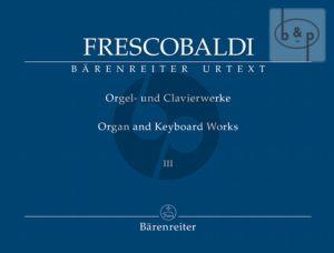 Orgel und Clavierwerke Vol.3
